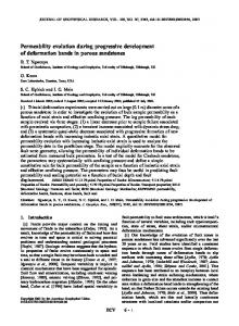 Permeability evolution during progressive ... - Wiley Online Library