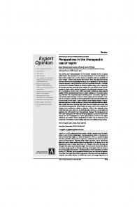 Perspectives in the therapeutic use of leptin
