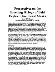 Perspectives on the Breeding Biology of Bald Eagles in Southeast ...