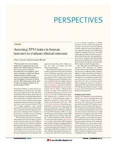 perspectives - p53 WEB SITE - Free