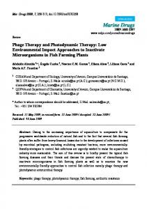 Phage Therapy and Photodynamic Therapy - BioMedSearch