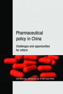 Pharmaceutical policy in China - LSE