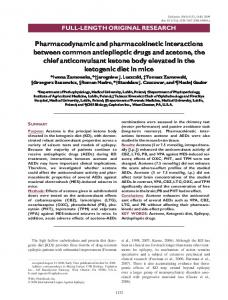 Pharmacodynamic and pharmacokinetic ... - Wiley Online Library