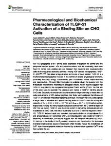 Pharmacological and Biochemical ... - Semantic Scholar