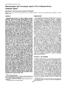 Pharmacological and Toxicological Aspects of ... - Semantic Scholar