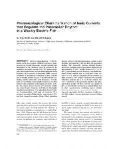 Pharmacological characterization of ionic ... - Wiley Online Library