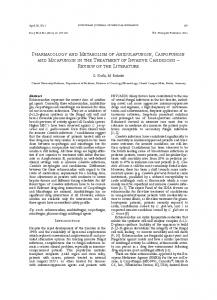 PHaRMacology and MEtabolIsM of anIdulafungIn ... - Springer Link