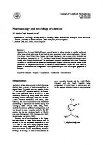 Pharmacology and toxicology of absinthe