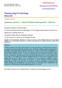 Pharmacology & Toxicology Research