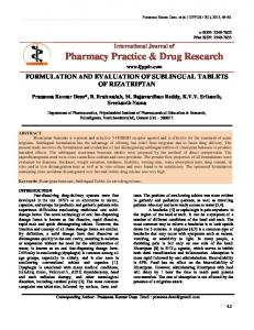 Pharmacy Practice & Drug Research - International journal of ...