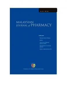 Pharmacy Practice in Malaysia