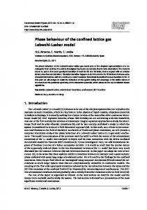 Phase behaviour of the confined lattice gas Lebwohl-Lasher model