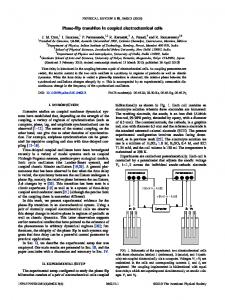 Phase-flip transition in coupled electrochemical ... - APS Link Manager