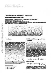 Phenomenology from SIDIS and $ e^+ e^-$ multiplicities