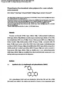 Phenothiazine-functionalized redox polymers for a ...