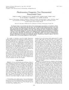 Phialemonium Fungemia - Journal of Clinical Microbiology - American ...