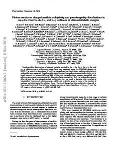 Phobos results on charged particle multiplicity and pseudorapidity ...