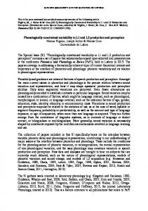 Phonologically constrained variability in L1 and L2 ... - Semantic Scholar