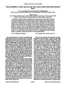 Phonon instabilities in rocksalt AgCl and AgBr under pressure studied