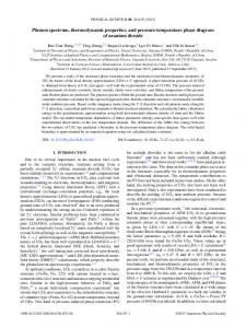 Phonon spectrum, thermodynamic properties ... - APS Link Manager