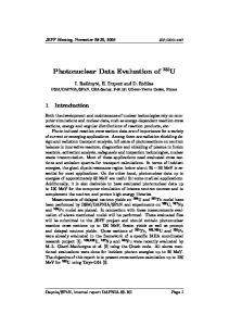 Photonuclear Data Evaluation of 235U