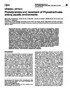 Phylodynamics and movement of ... - Semantic Scholar