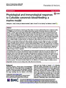 Physiological and immunological responses to ... - Parasites & Vectors