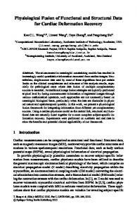 Physiological Fusion of Functional and Structural Data ... - Springer Link