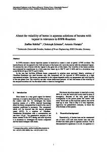 Physor '08 full paper template and formatting instructions - TU Dresden
