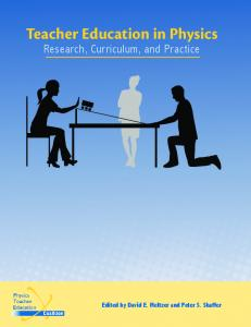PhysTEC eBook: Teacher Education in Physics