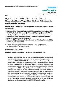 Phytochemicals and Other Characteristics of ... - Semantic Scholar