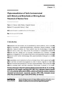 Phytoremediation of Soils Contaminated with Metals and Metalloids at ...