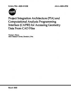 PIA - NASA Technical Reports Server (NTRS)