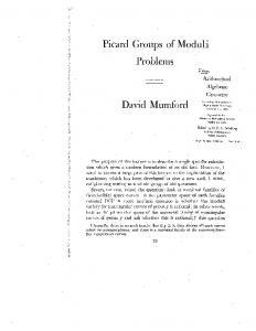 Picard Groups of Moduli Problems