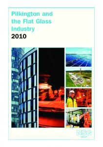 Pilkington and the Flat Glass Industry 2010