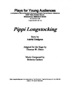 Pippi Longstocking - Plays for Young Audiences