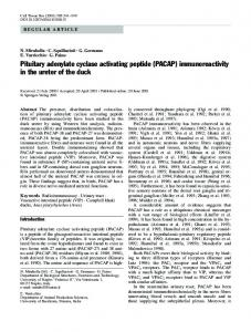 Pituitary adenylate cyclase activating peptide - Springer Link