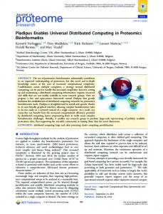 Pladipus Enables Universal Distributed Computing ... - ACS Publications
