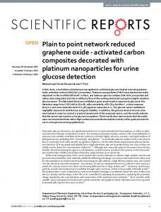 Plain to point network reduced graphene oxide