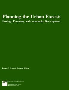 Planning the Urban Forest - USDA Forest Service