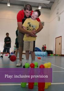 Play: inclusive provision - Play Wales