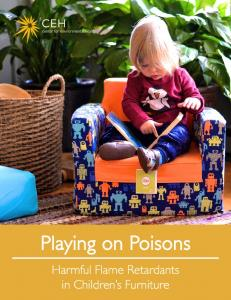 Playing on Poisons - Center for Environmental Health