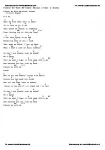Please Be With Me-Duane Allman lyrics & chords - Traditional Music ...