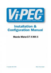 PlugIn Installation Manual - Vi-Pec