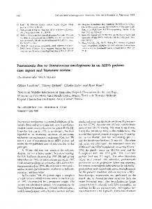 Pneumonia due to Stomatococcus ... - Wiley Online Library