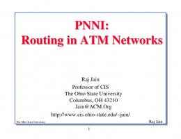 PNNI Routing in ATM Networks