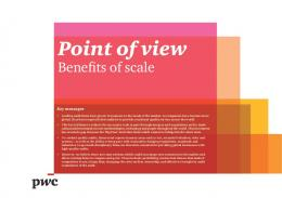 Point of view - PwC