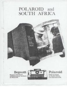POLAROID and. SOUTH AFRICA