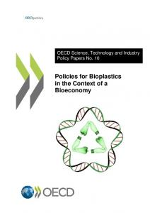 Policies for Bioplastics in the Context of a Bioeconomy