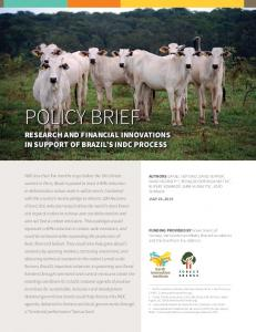 policy brief policy brief - Earth Innovation Institute